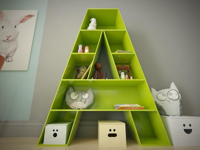10 mẫu phòng ngủ cho bé đầy màu sắc và không gian vui chơi - Ảnh 11.