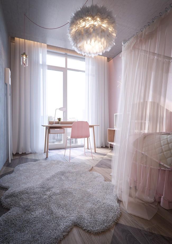 10 mẫu phòng ngủ cho bé đầy màu sắc và không gian vui chơi - Ảnh 15.