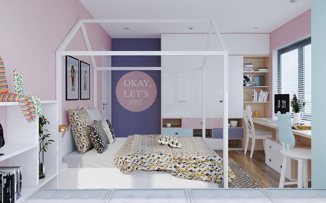 10 mẫu phòng ngủ cho bé đầy màu sắc và không gian vui chơi - Ảnh 19.