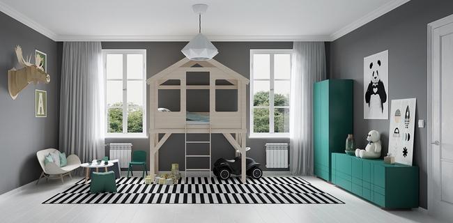 10 mẫu phòng ngủ cho bé đầy màu sắc và không gian vui chơi - Ảnh 25.