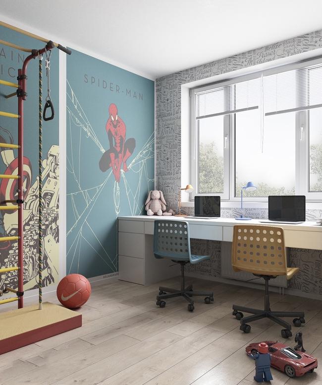 10 mẫu phòng ngủ cho bé đầy màu sắc và không gian vui chơi - Ảnh 28.