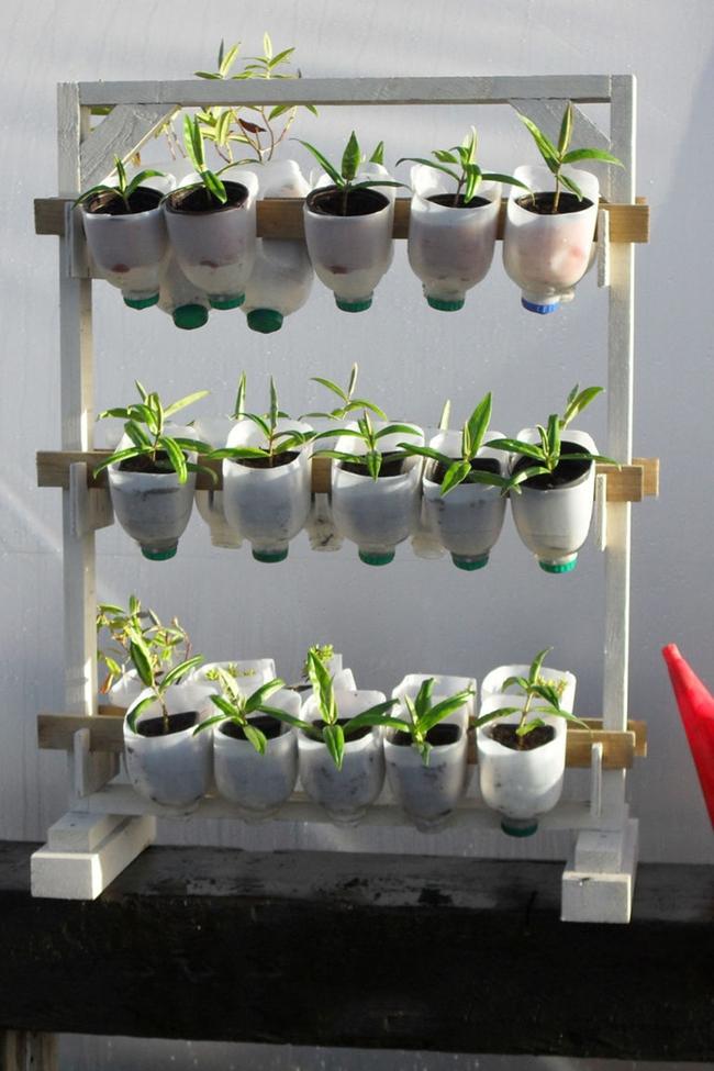10 ý tưởng tái chế những món đồ cũ phổ biến trong nhà thành chậu gieo hạt lý tưởng - Ảnh 8.