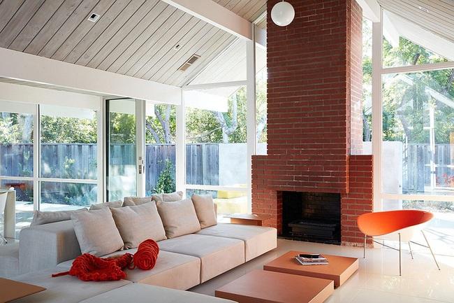 Ngôi nhà sử dụng tới 70% chất liệu gỗ đẹp đến không thể rời mắt - Ảnh 2.