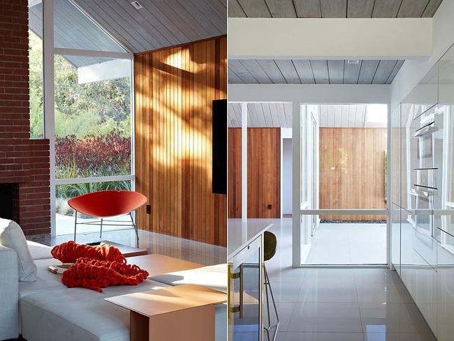 Ngôi nhà sử dụng tới 70% chất liệu gỗ đẹp đến không thể rời mắt - Ảnh 5.