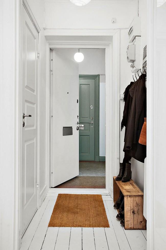 Căn hộ nhỏ trong khu chung cư cũ nhưng vẫn vô cùng xinh đẹp và tinh tế với phong cách Scandinavian  - Ảnh 2.