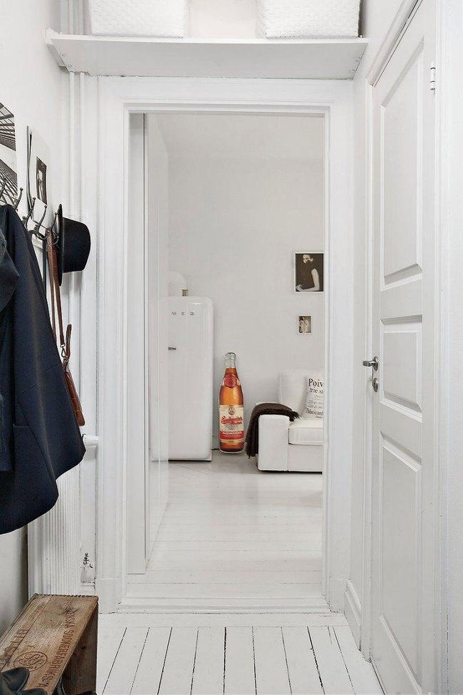 Căn hộ nhỏ trong khu chung cư cũ nhưng vẫn vô cùng xinh đẹp và tinh tế với phong cách Scandinavian  - Ảnh 3.