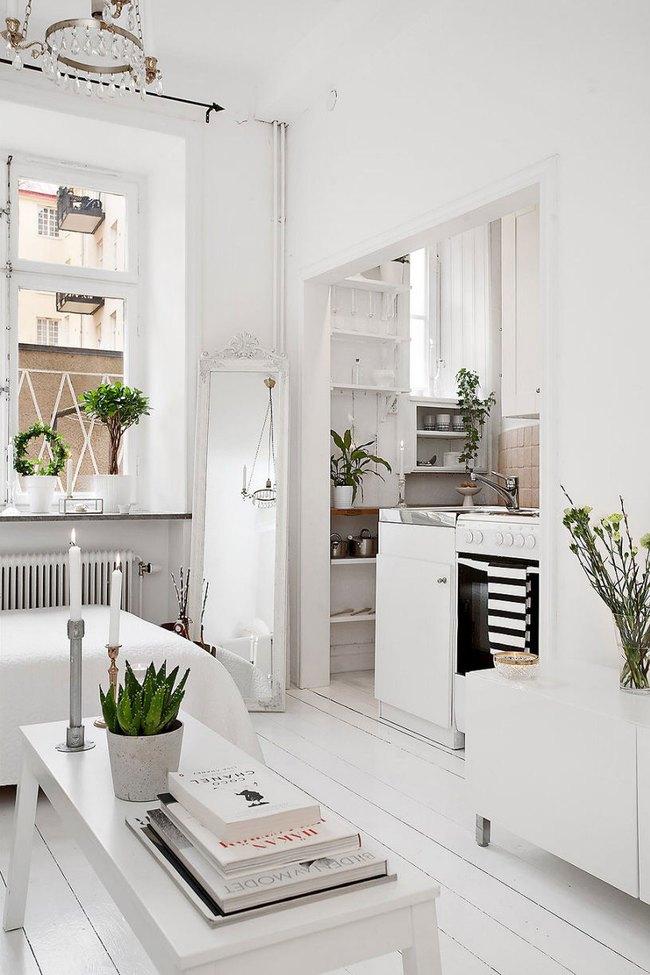 Căn hộ nhỏ trong khu chung cư cũ nhưng vẫn vô cùng xinh đẹp và tinh tế với phong cách Scandinavian  - Ảnh 4.