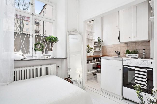 Căn hộ nhỏ trong khu chung cư cũ nhưng vẫn vô cùng xinh đẹp và tinh tế với phong cách Scandinavian  - Ảnh 8.