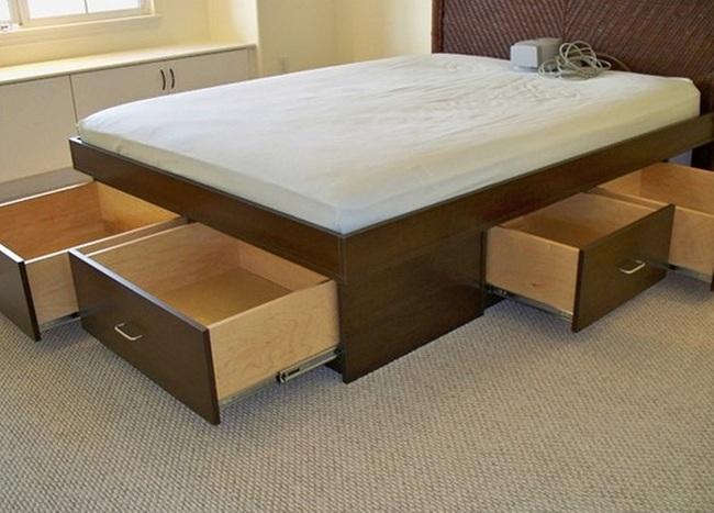 Ý tưởng lưu trữ đồ thông minh trong phòng ngủ - Ảnh 2.