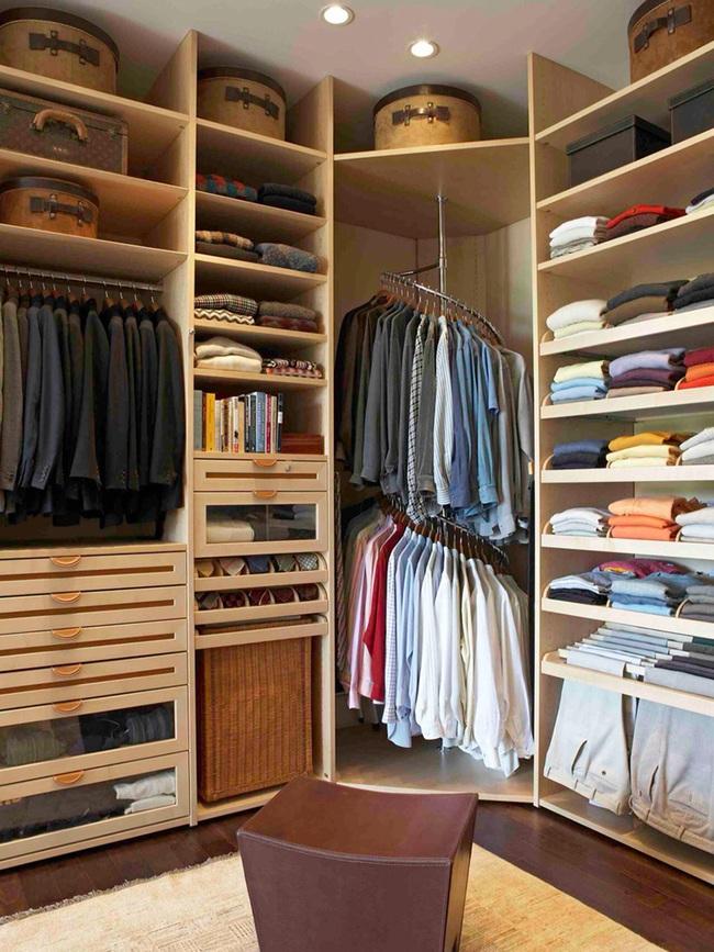 Ý tưởng lưu trữ đồ thông minh trong phòng ngủ - Ảnh 4.