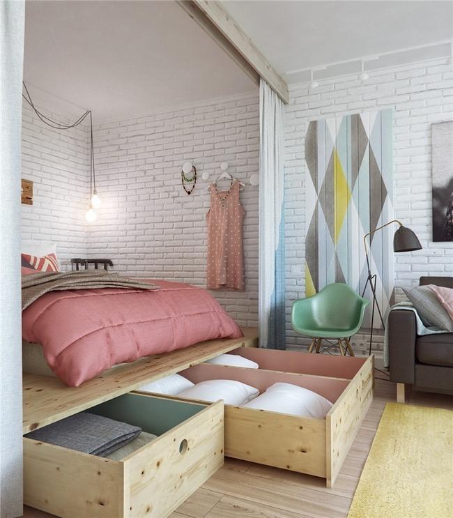 Ý tưởng lưu trữ đồ thông minh trong phòng ngủ - Ảnh 8.