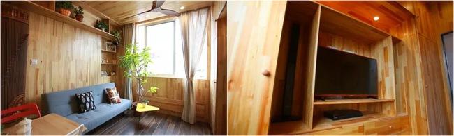 Cải tạo căn hộ rộng 39m2 thành không gian đáng mơ ước cho gia đình 3 thế hệ - Ảnh 5.