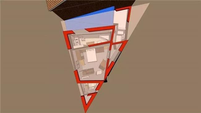 Ngôi nhà lụp xụp trên mảnh đất hình tam giác lột xác đẹp đến ngỡ ngàng - Ảnh 5.
