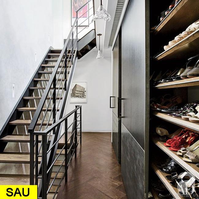 Gợi ý 9 mẫu thiết kế cải tạo cầu thang và hành lang để ngôi nhà thêm bắt mắt - Ảnh 6.