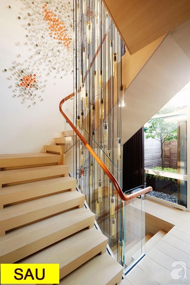 Gợi ý 9 mẫu thiết kế cải tạo cầu thang và hành lang để ngôi nhà thêm bắt mắt - ảnh 10