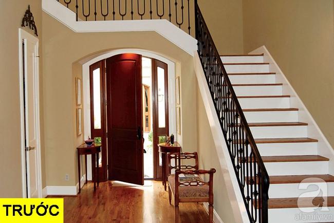 Gợi ý 9 mẫu thiết kế cải tạo cầu thang và hành lang để ngôi nhà thêm bắt mắt - Ảnh 13.