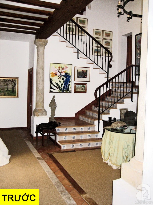 Gợi ý 9 mẫu thiết kế cải tạo cầu thang và hành lang để ngôi nhà thêm bắt mắt - ảnh 17
