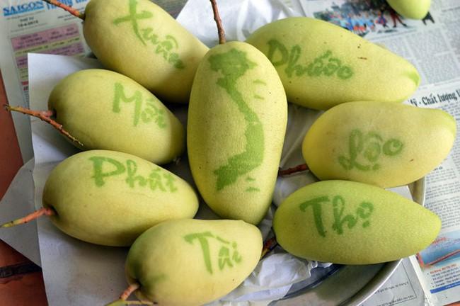 5 loại trái cây khắc chữ giá tiền triệu vẫn nhiều người tìm mua dịp Tết - Ảnh 5.