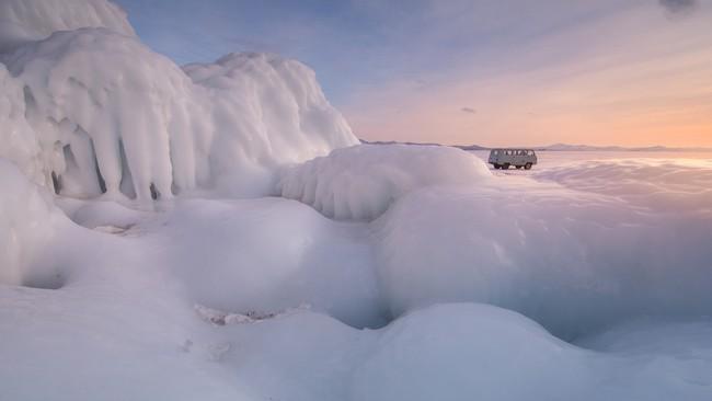 Những khung cảnh đẹp như cổ tích khi tuyết trắng bao phủ trên thế giới - ảnh 3