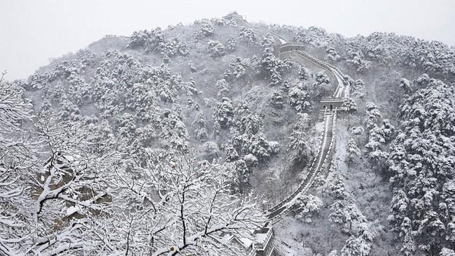 Những khung cảnh đẹp như cổ tích khi tuyết trắng bao phủ trên thế giới - ảnh 5
