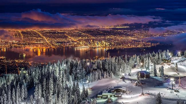 Những khung cảnh đẹp như cổ tích khi tuyết trắng bao phủ trên thế giới - ảnh 14