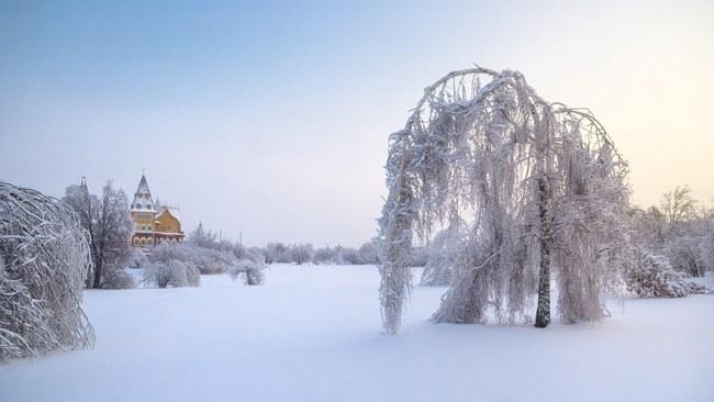 Những khung cảnh đẹp như cổ tích khi tuyết trắng bao phủ trên thế giới - ảnh 15