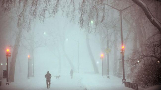Những khung cảnh đẹp như cổ tích khi tuyết trắng bao phủ trên thế giới - ảnh 20