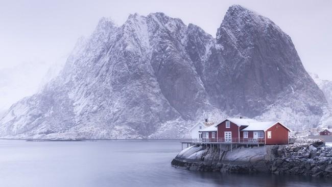 Những khung cảnh đẹp như cổ tích khi tuyết trắng bao phủ trên thế giới - ảnh 24