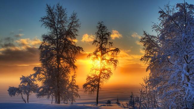 Những khung cảnh đẹp như cổ tích khi tuyết trắng bao phủ trên thế giới - ảnh 25