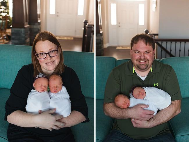 Bộ ảnh xúc động của cậu bé chỉ sống được 11 ngày bên em gái song sinh - Ảnh 10.