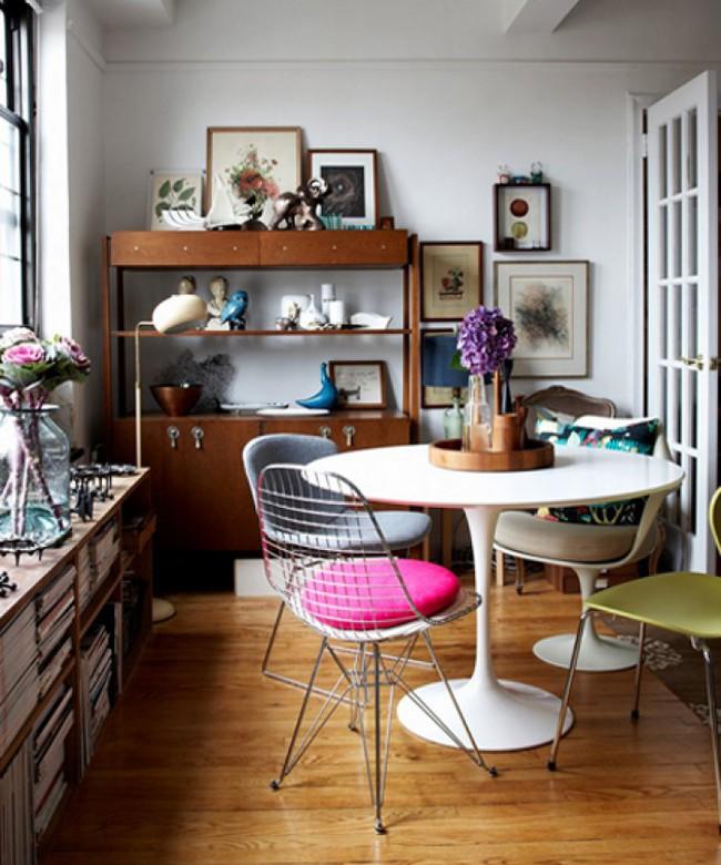 3 ý tưởng kết hợp đồ nội thất cho phòng ăn nhà bạn đẹp độc đáo - Ảnh 4.