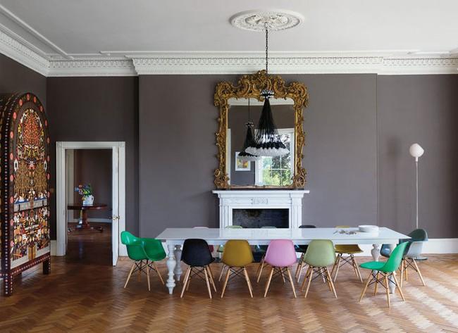 3 ý tưởng kết hợp đồ nội thất cho phòng ăn nhà bạn đẹp độc đáo - Ảnh 9.