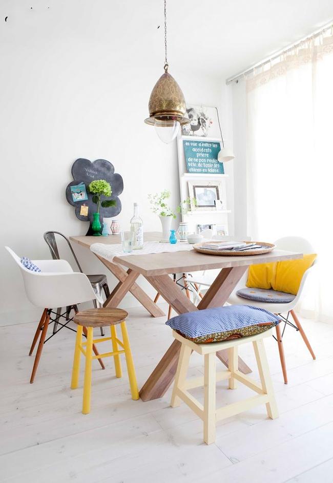 3 ý tưởng kết hợp đồ nội thất cho phòng ăn nhà bạn đẹp độc đáo - Ảnh 17.