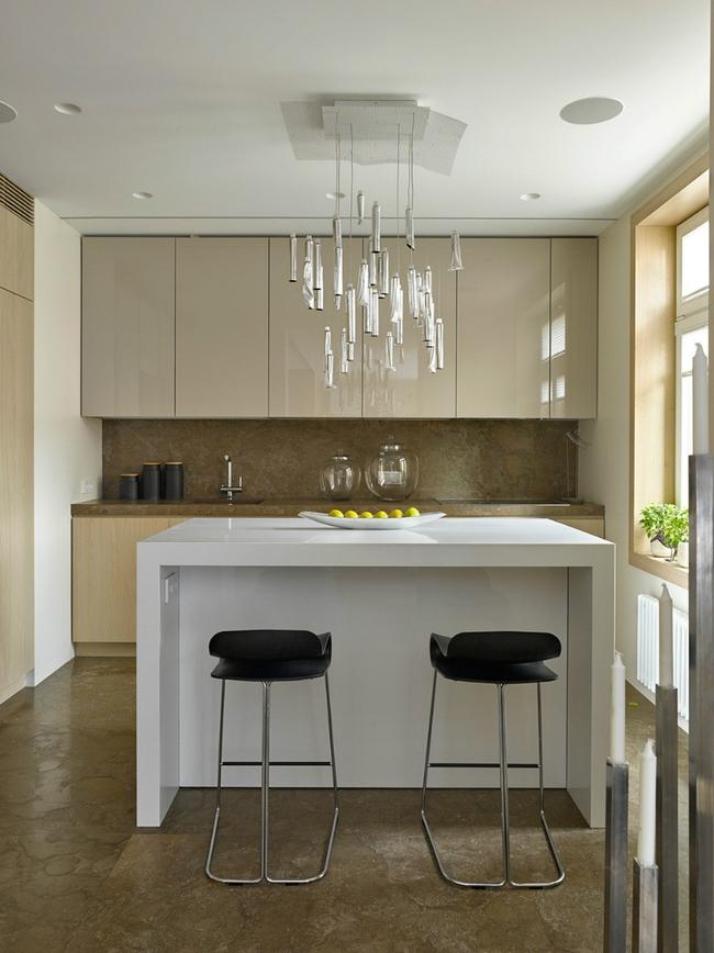 Ngôi nhà được sử dụng toàn màu be mà không hề nhàm chán   - Ảnh 7.
