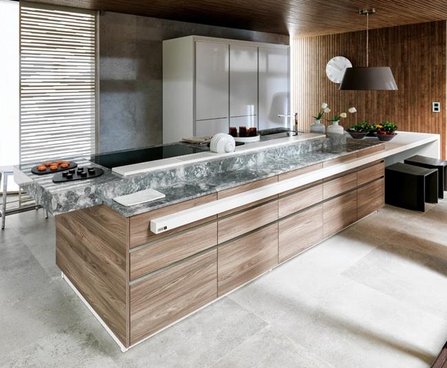 Những thiết kế phòng bếp đẹp đến mê mẩn - Ảnh 2.