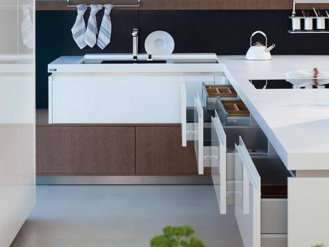 Những thiết kế phòng bếp đẹp đến mê mẩn - Ảnh 4.