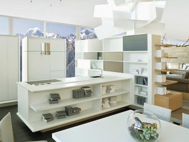 Những thiết kế phòng bếp đẹp đến mê mẩn - Ảnh 6.