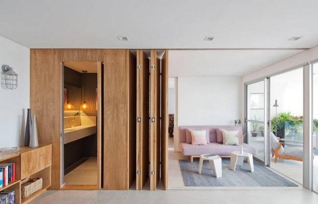 Chiếc vách cửa thần kì tạo ra không gian sống tuyệt vời cho ngôi nhà của cặp vợ chồng trẻ - Ảnh 2.