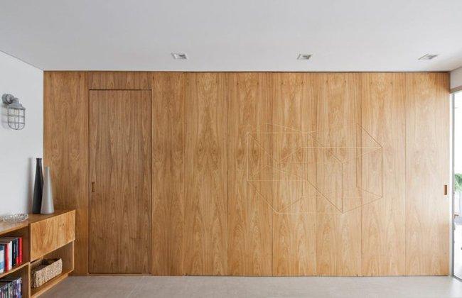 Chiếc vách cửa thần kì tạo ra không gian sống tuyệt vời cho ngôi nhà của cặp vợ chồng trẻ - Ảnh 3.