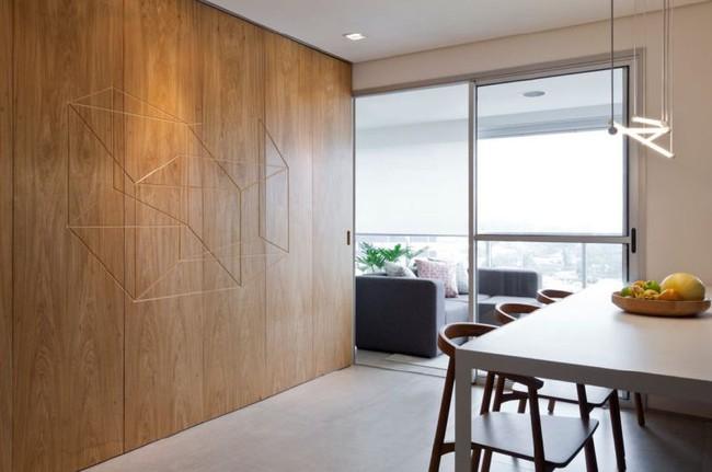 Chiếc vách cửa thần kì tạo ra không gian sống tuyệt vời cho ngôi nhà của cặp vợ chồng trẻ - Ảnh 4.