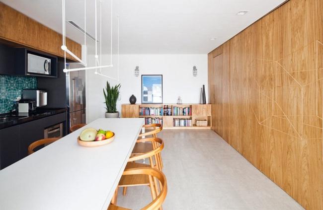 Chiếc vách cửa thần kì tạo ra không gian sống tuyệt vời cho ngôi nhà của cặp vợ chồng trẻ - Ảnh 7.