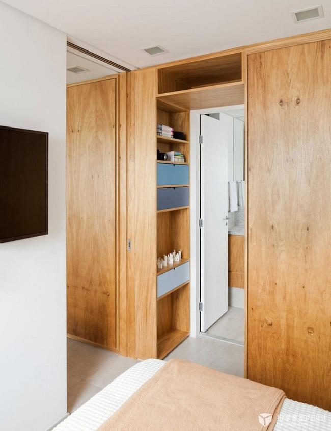 Chiếc vách cửa thần kì tạo ra không gian sống tuyệt vời cho ngôi nhà của cặp vợ chồng trẻ - Ảnh 8.