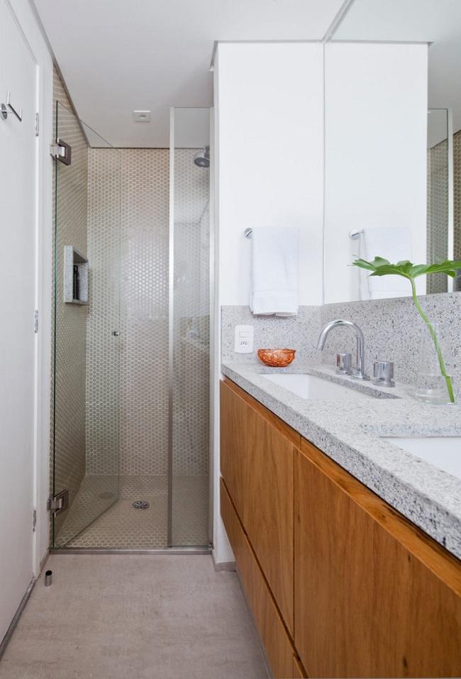 Chiếc vách cửa thần kì tạo ra không gian sống tuyệt vời cho ngôi nhà của cặp vợ chồng trẻ - Ảnh 10.