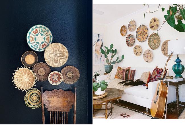 Tường nhà bớt nhàm chán với những món đồ trang trí bằng mây tre đan độc đáo - Ảnh 1.