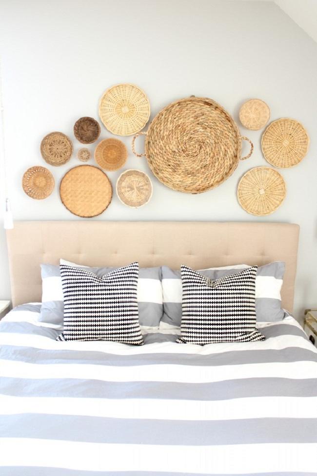 Tường nhà bớt nhàm chán với những món đồ trang trí bằng mây tre đan độc đáo - Ảnh 11.