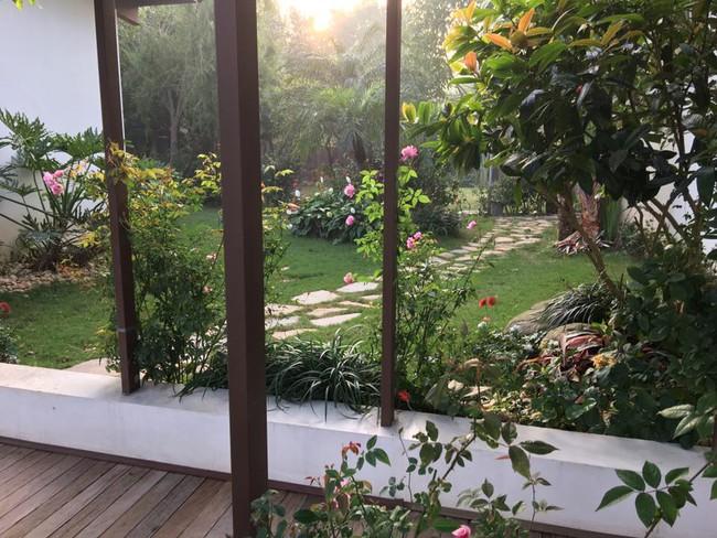 Cuộc sống bình yên của gia đình ca sĩ Mỹ Linh trong nhà vườn ngập tràn sắc hoa ở ngoại ô - Ảnh 10.