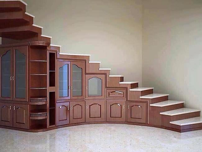 Những cách tận dụng gầm cầu thang để chứa đồ tiện ích và thông minh - Ảnh 9.