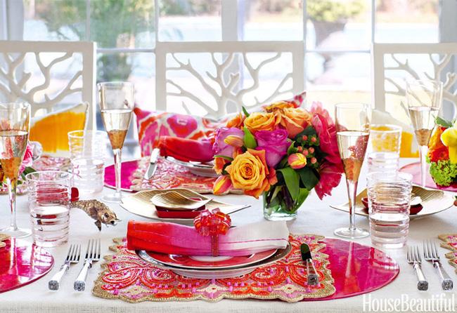 10 ý tưởng trang trí bàn ăn ngày Valentine vô cùng lãng mạn - Ảnh 1.