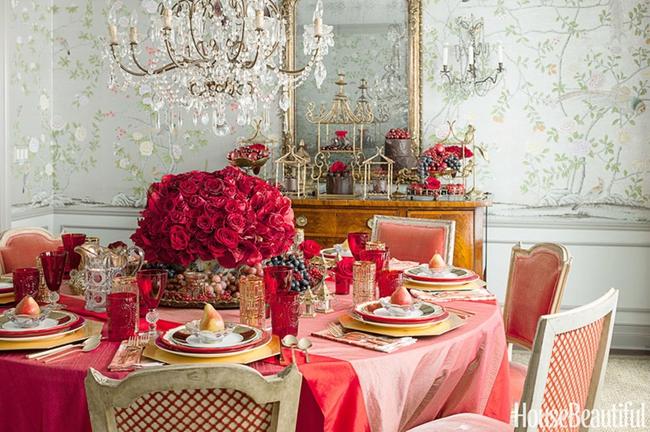 10 ý tưởng trang trí bàn ăn ngày Valentine vô cùng lãng mạn - Ảnh 4.