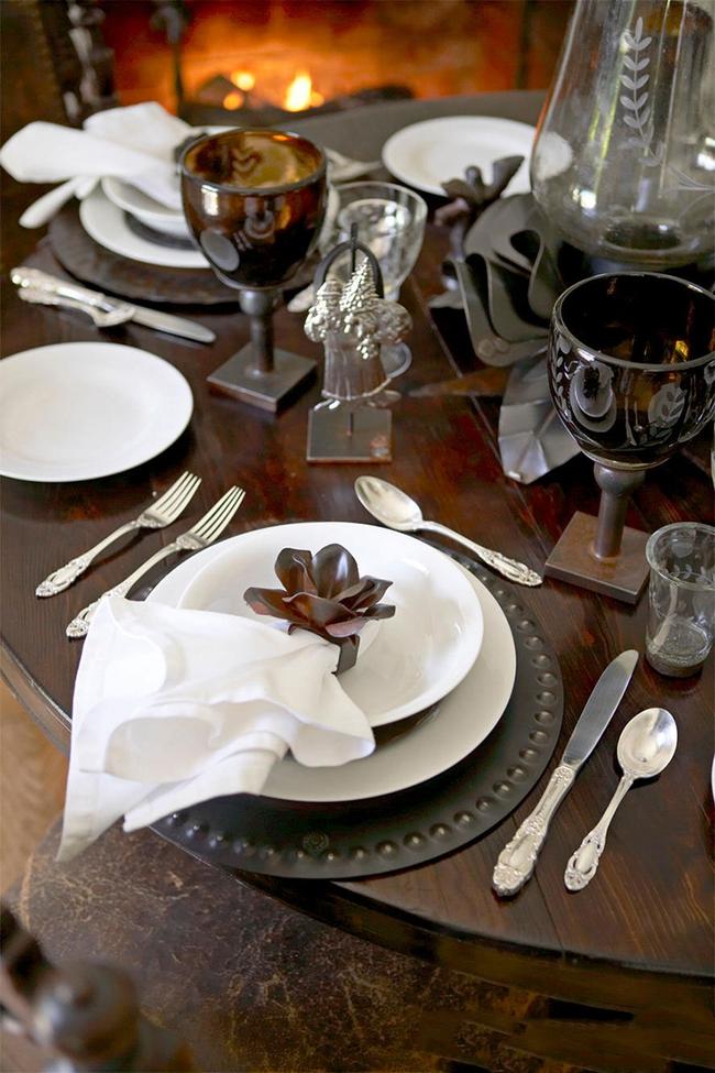 10 ý tưởng trang trí bàn ăn ngày Valentine vô cùng lãng mạn - Ảnh 5.
